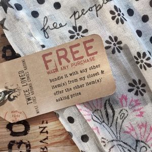 🇺🇸 free people bags FREE WITH ANY PURCHASE